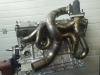 BMW TURBO M50 M52 manifold .RHD + DOWNPIPE E36